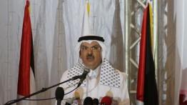 السفير العمادي: استمرار جهود إدخال المنحة القطرية لغزة و'إجراءات كورونا' سبب تأخرها
